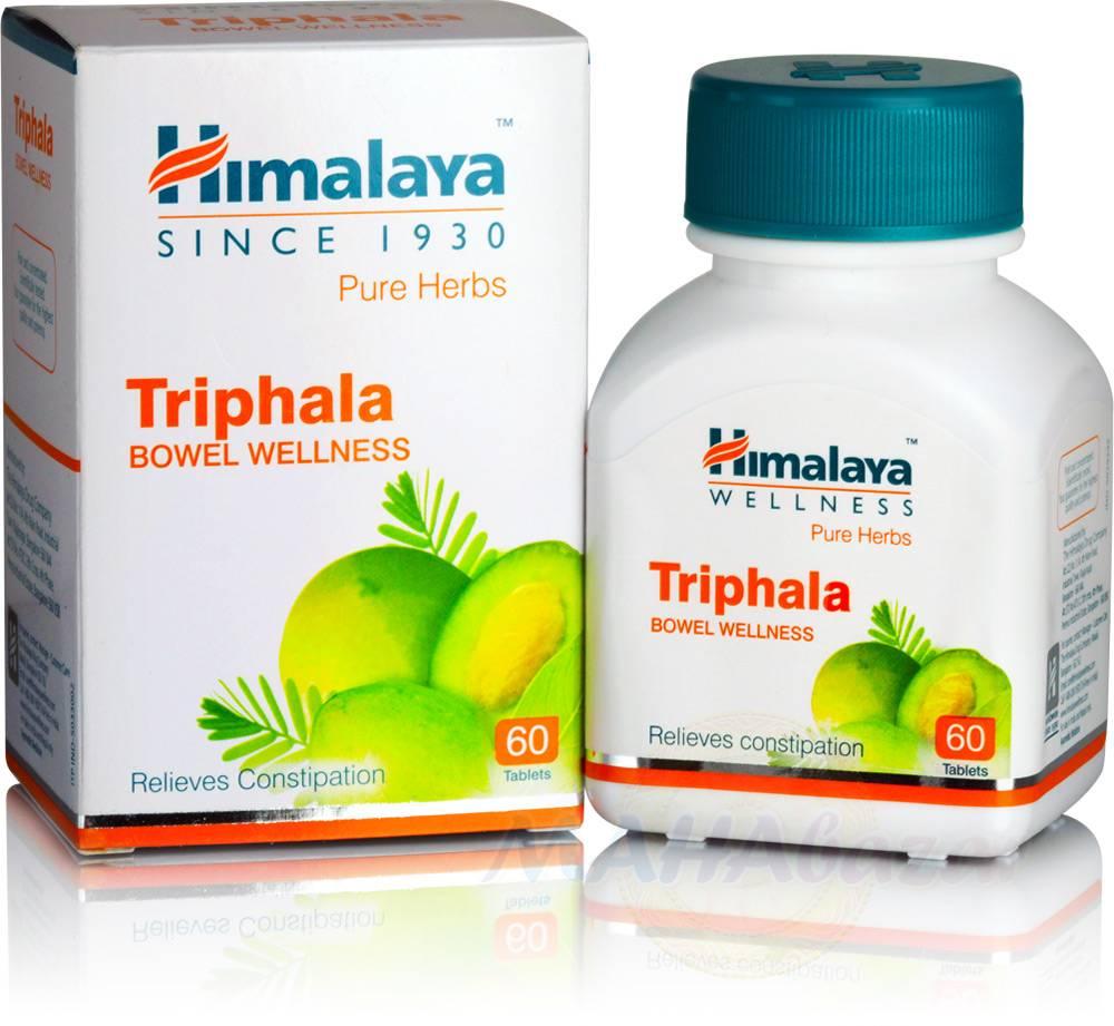 Трифала, очищение организма, 60 таб, производитель Хималая; Triphala, 60 tabs, Himalaya