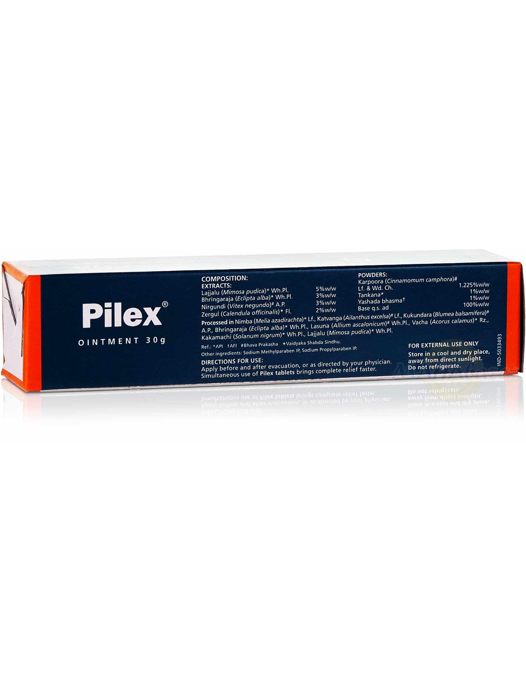pilex cremă de la varicoză