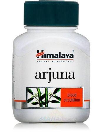 """Фото 8327: Арджуна: сердечный тоник, 60 кап., производитель """"Хималая"""", Arjuna, 60 caps., Himalaya"""