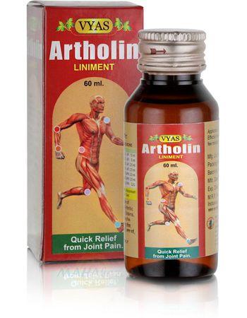 Масло для суставов Артхолин, 60 мл, производитель Вьяс
