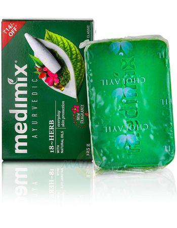 Аюрведическое мыло Медимикс 18 трав, 125 г, производитель Медимикс