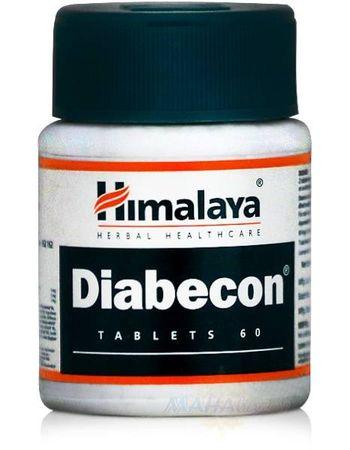 """Фото 7626: Диaбекон: лечение диабета, 60 таб., производитель """"Хималая"""", Diаbecon, 60 tabs., Himalaya"""