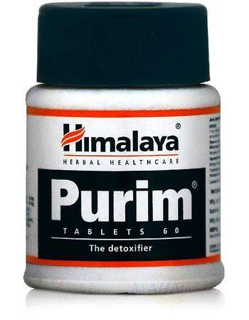 "Фото 6913: Пурим: здоровье кожи, 60 таб., производитель ""Хималая"", Purim, 60 tabs., Himalaya"