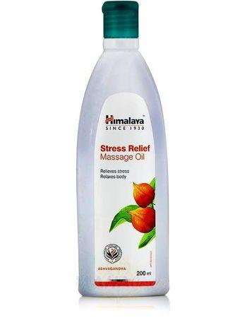"""Фото 8787: Массажное масло """"Стресс-Релиф"""", 200 мл, производитель """"Хималая"""", Stress Relief Massage Oil, 200 ml, Himalaya"""