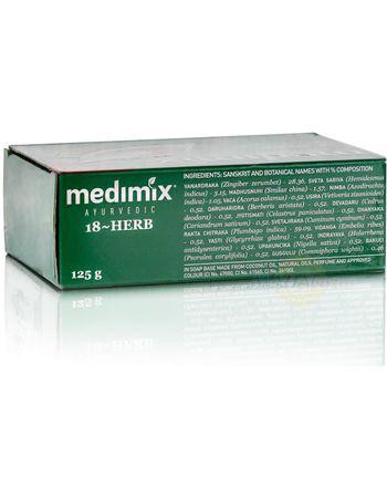 Аюрведическое мыло Медимикс 18 трав, 125 г, производитель Медимикс, состав