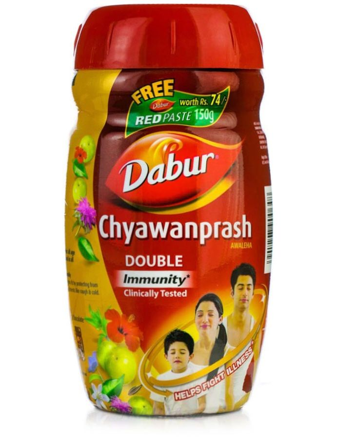 Чаванпраш Дабур Двойной иммунитет (575 гр) | Купить на Mahabazar.Club